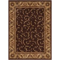Nourison Somerset 2' x 2'9 Accent Rug in Brown