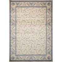 Nourison Somerset 2' x 2'9 Accent Rug in Ivory/Blue