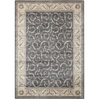 Nourison Somerset 2' x 2'9 Accent Rug in Charcoal
