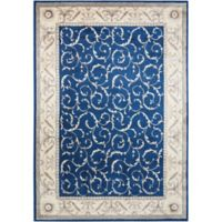 Nourison Somerset 3'6 x 5'6 Area Rug in Navy
