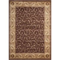 Nourison Somerset 3'6 x 5'6 Area Rug in Brown