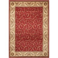 Nourison Somerset 3'6 x 5'6 Area Rug in Red
