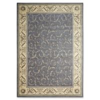 Nourison Somerset 5'3 x 7'5 Area Rug in Silver