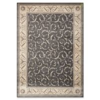 Nourison Somerset 5'3 x 7'5 Area Rug in Charcoal