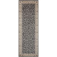 Nourison Somerset 2' x 6' Runner in Charcoal