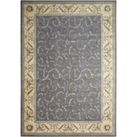 Nourison Somerset 7'9 x 10'10 Area Rug in Silver