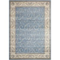Nourison Somerset 7'9 x 10'10 Area Rug in Light Blue