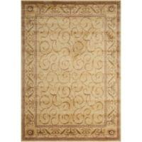 Nourison Somerset 9'6 x 13' Area Rug in Ivory
