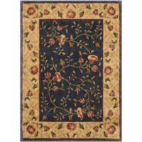 Nourison Somerset 7'9 x 10'10 Loomed Area Rug in Navy