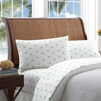 Tommy Bahama® Mariners Catch Standard Pillowcases in Aqua (Set of 2)