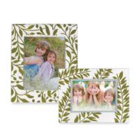 Lenox® Botanical Boutique 5-Inch x 7-Inch Crystal Frame