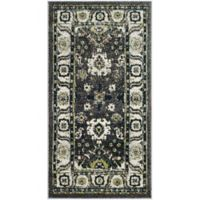 Safavieh Vintage Hamadan 2-Foot 7-Inch x 5-Foot Laleh Rug in Dark Grey