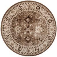 Safavieh Vintage Hamadan 5-Foot 3-Inch x 5-Foot 3-Inch Laleh Rug in Taupe
