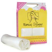 Morning Glamour Satin King Pillowcases in Ivory (Set of 2)
