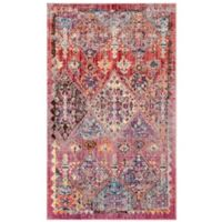 Safavieh Bristol 4-Foot x 6-Foot Delia Rug in Rose