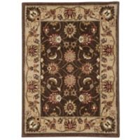 Nourison Somerset Floral 2' x 2'9 Accent Rug in Brown