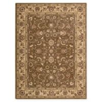 Nourison Somerset Floral 5'3 x 7'5 Area Rug in Taupe