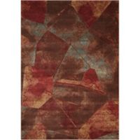 Nourison Somerset Abstract 5'3 x 7'5 Multicolor Area Rug