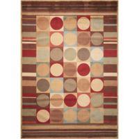 Nourison Somerset Shapes 3'6 x 5'6 Multicolor Area Rug