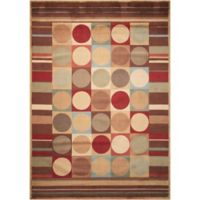 Nourison Somerset Shapes 7'9 x 10'10 Multicolor Area Rug