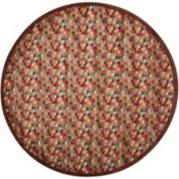 Nourison Somerset Hexagon 5'6 Round Multicolor Area Rug