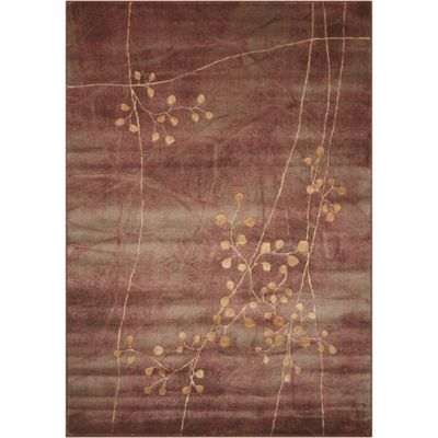 Nourison Somerset Branches 24 X 33 Multicolor Accent Rug