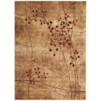 Nourison Somerset Branches 9'6 x 13' Area Rug in Brown
