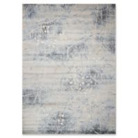 Nourison Somerset Branches 9'6 x 13' Area Rug in Silver/Blue