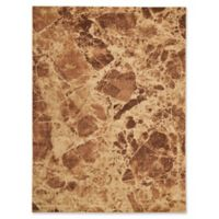 Nourison Marble 5'3 x 7'5 Loomed Area Rug in Brown