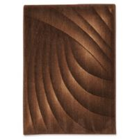Nourison Home & Garden Somerset Waved 24' x 33' Area Rug in Chocolate
