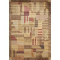 Nourison Home & Garden Somerset Abstract 9'6 x 13' Area Rug in Multi