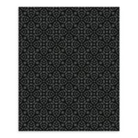 A-Street Prints Element Mosaic Wallpaper in Black