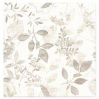 Brewster Home Gossamer Botanical Wallpaper in Taupe