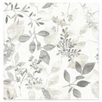 Brewster Home Gossamer Botanical Wallpaper in Grey