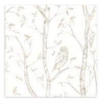 A-Street Prints Neptune Forest Wallpaper in Taupe