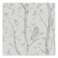 A-Street Prints Neptune Forest Wallpaper in Grey