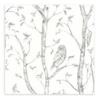 A-Street Prints Neptune Forest Wallpaper in Charcoal