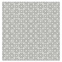 A-street Prints Orbit Floral Wallpaper in Grey