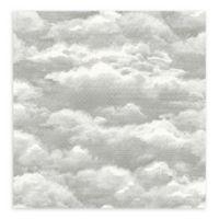 A-Street Prints Solstice Cloud Wallpaper in Opal