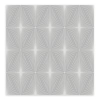 A-Street Prints Starlight Diamond Wallpaper in Grey