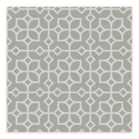 A-Street Prints Maze Tile Wallpaper in Light Grey