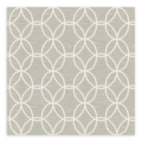 A-Street Prints Network Links Wallpaper in Light Grey