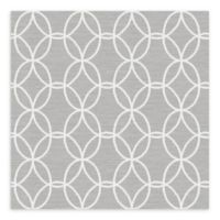 A-Street Prints Network Links Wallpaper in Grey