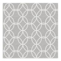 A-Street Prints Network Links Wallpaper in Grey