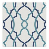 A-Street Prints Sausalito Lattice Wallpaper in Navy