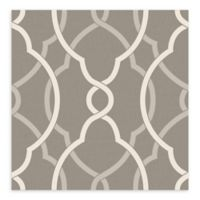 A-Street Prints Sausalito Lattice Wallpaper in Grey