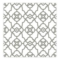A-street Prints Atrium Trellis Wallpaper in Grey