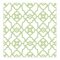 A-street Prints Atrium Trellis Wallpaper in Green