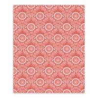 A-Street Prints Jubilee Medallion Damask Wallpaper in Red