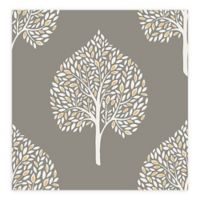 A-Street Prints Grove Tree Wallpaper in Grey